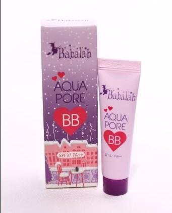 เปิดตัวผลิตภัณฑ์น้องใหม่ Babalah Aqua Pore BB SPF 37 PA++