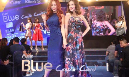 ปตท. – กสิกรไทย เปิดตัว PTT Blue Credit Card