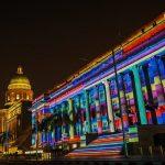 "Light to Night Festival 2018: Colour Sensationsat ""Singapore"""