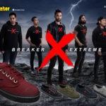 """ BREAKER X ""รองเท้าซีรี่ส์ใหม่สายพันธุ์เอ็กซ์ตรีม"